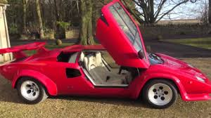 lamborghini countach kit car lamborghini countach owners go to kit car shows just to mess with you