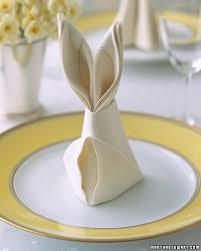 easter napkins bunny fold for napkins napkins easter and bunny