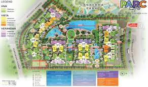 The Parc Condo Floor Plan by Parc Life Floor Plans