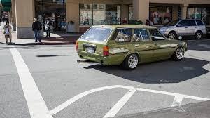subaru wagon stanced the street peep 1983 toyota corolla wagon