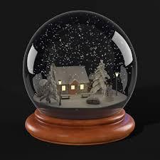 snow globe model