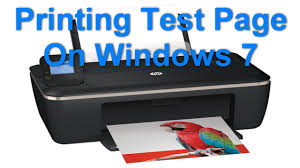hp deskjet ink advantage 2515 printing test page on windows 7