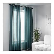 Green Grommet Curtains Ikea Janette Curtains Green Decorate The House With Beautiful