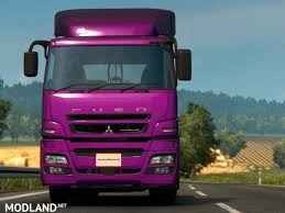 mitsubishi truck indonesia mitsubishi fuso super great 1 3 mod for ets 2