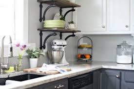 kitchen remodel upper kitchen cabinet alternatives to cabinets