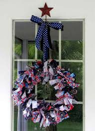 4th of july decorations make rag wreaths woo jr activities