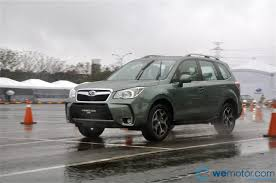 2016 subaru forester lifted review 2013 subaru forester a wet winter test in taipei