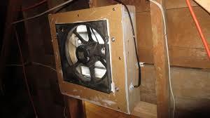 using cheap junkyard car parts to make a solar powered attic