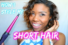 easy curling wand for permed hair how i would style my short hair using a wand curler sam i am