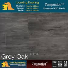 Canadia Laminate Flooring 7mm Laminate Flooring Grey Oak Carpet Vidalondon
