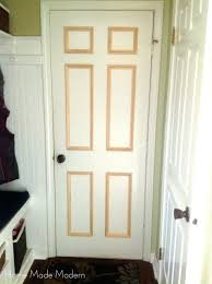 Bi Fold 6 Panel Closet Doors Closet 6 Panel Bifold Closet Door Ways To Update Flat Doors And