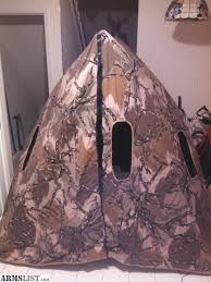 Pop Up Ground Blind Armslist For Sale Hunting Blind Original Double Bull 3 Man