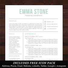Resume Template Word Mac Resume Template Professional Resume Cv Design Free Cover