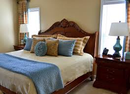 blue and white decorating ideas bedroom blue brown white bedroom interior design ideas with