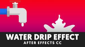 liquid drip u0026 splash after effects tutorial no third party