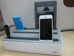 Diy Ipad Charging Station Anker 5 Device Charging Station Review Youtube
