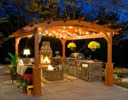 Outdoor Island Lighting Adorable Outdoor Bbq Island Lighting Wonderful Patio Kitchen