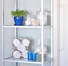 diy towel rack bathroom Étagère