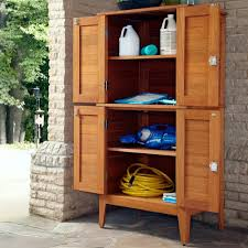 Outdoor Storage Cabinets With Shelves Montego Bay Four Door Multi Purpose Storage Cabinet Homestyles