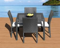 dining room amazing 28 rattan chairs set of 4 salsa with regard to