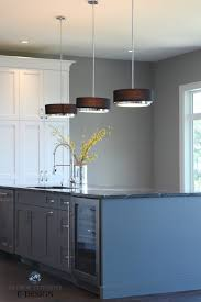 two tone kitchen cabinets with black countertops the 4 best paint colours for kitchen island or lower