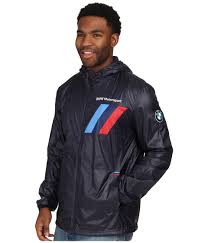 bmw motorsport clothing bmw motorsport lightweight jacket in blue for lyst