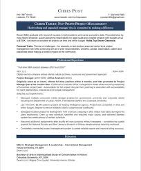 Sample Resume For Project Management Position by Best Project Manager Resume Nfgaccountability Com