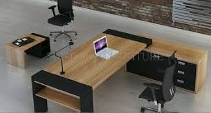 grand bureau en bois bois mobilier de bureau moderne grand bureau exécutif sz od294