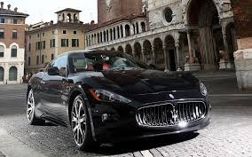 black maserati sports car maserati logo car brands black wallpaper hd de 2721 wallpaper