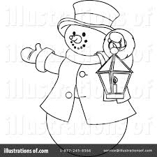 snowman clipart 434538 illustration by pushkin
