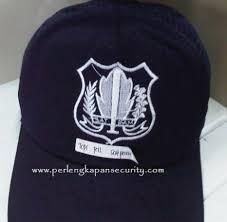 jual perlengkapan security topi pdl satpam laricci jaring