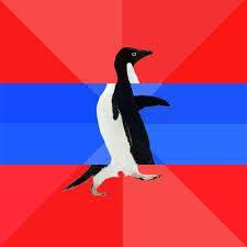 Penguin Meme Generator - socially awesome awkward penguin blank template imgflip