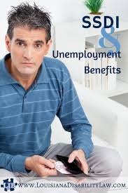 applying for ssdi and unemployment benefits loyd j bourgeois