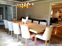 restoration hardware dining room contemporary dining room with crown molding by d2 interieurs