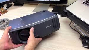 Sony Sxrd Lamp Reset by Sony Bravia Projector Review Youtube