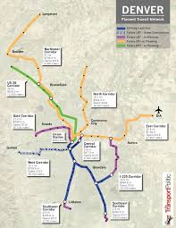 denver light rail expansion map denver fastracks problems expose complexities of building transit at