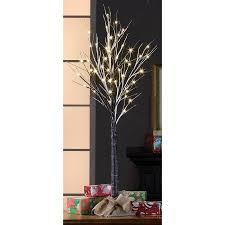 holiday time pre lit 4 u0027 brown stick artificial christmas tree