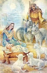 nativity krippen vintage