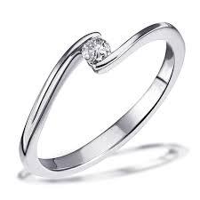 verlobungsring brilliant goldmaid damen ring solitär verlobungsring 585 weißgold 1 brillant