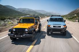 jeep snow meme 2014 jeep wrangler unlimited vs 2014 toyota fj cruiser motor trend