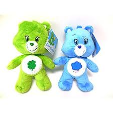 amazon good luck green care bear bean bag toy size 8 inches
