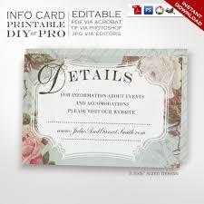 free wedding registry card wedding registry card template