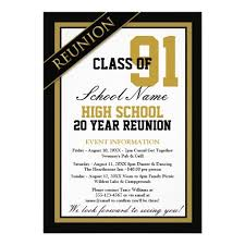 50th high school class reunion invitation 21 best exceptional reunion invites images on class