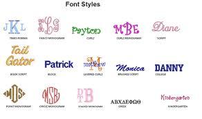 stacked monogram monogram tips