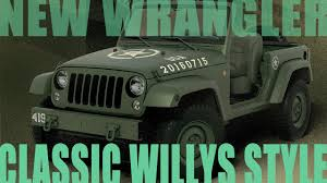 military jeep side view new wrangler built to look like classic army willys jeep youtube