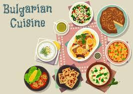 cuisine bulgare le déjeuner traditionnel de cuisine bulgare bombe l icône