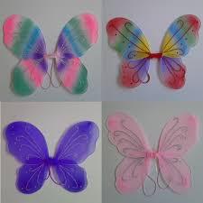 au 13 colors princess kids fairy butterfly wings fancy dress