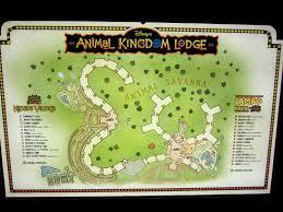 Dvc Map Digital Disney World 110 O T D 5 1 09 Kidani Village Opens