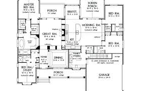 five bedroom floor plans five bedroom house plans one best four six modern simple 5