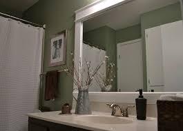 Frame Bathroom Mirror Kit Frame A Bathroom Mirror Kit Masata Design Easy Way To Frame A
